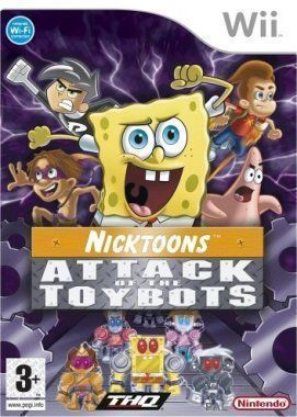SPONGEBOB AND FRIENDS: ATTACK OF THE TOYBOTS (Wii)