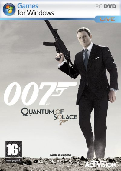 JAMES BOND 007: QUANTUM OF SOLACE (PC)